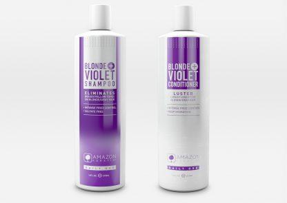 Basic Blonde + Violet Kit