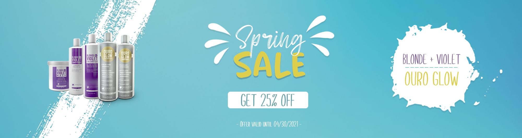 Spring Sale Header